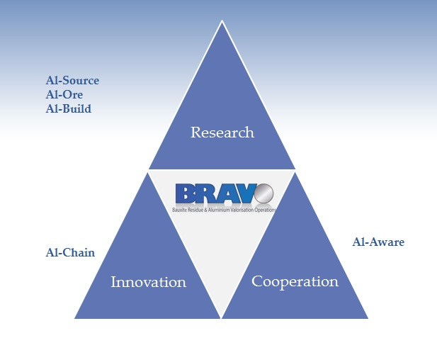 Bravo's 5 project areas