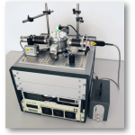 Advanced equipment for in situ monitoring of microwave processes