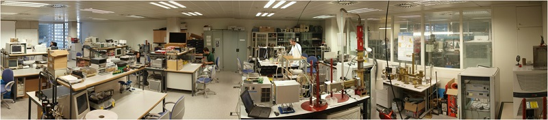 One of the Microwave Laboratories at DiMaS facilities (UPVLC)
